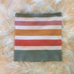 NWOT striped tube top